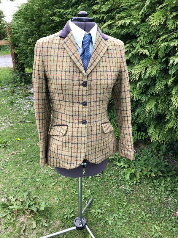 showing selection tweed jacket ladies