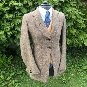 tweed show jacket