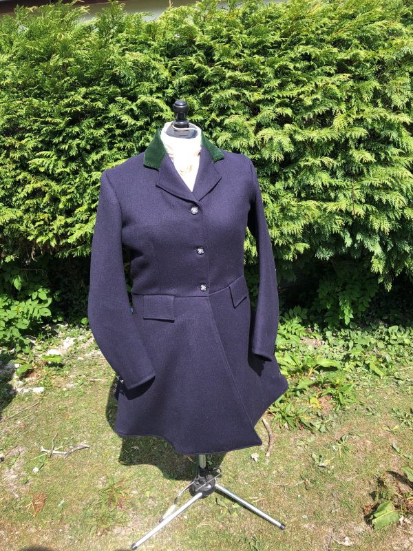 ladies hunt frock coat